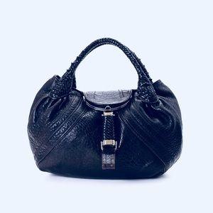 Vintage Fendi Spy Purse Black
